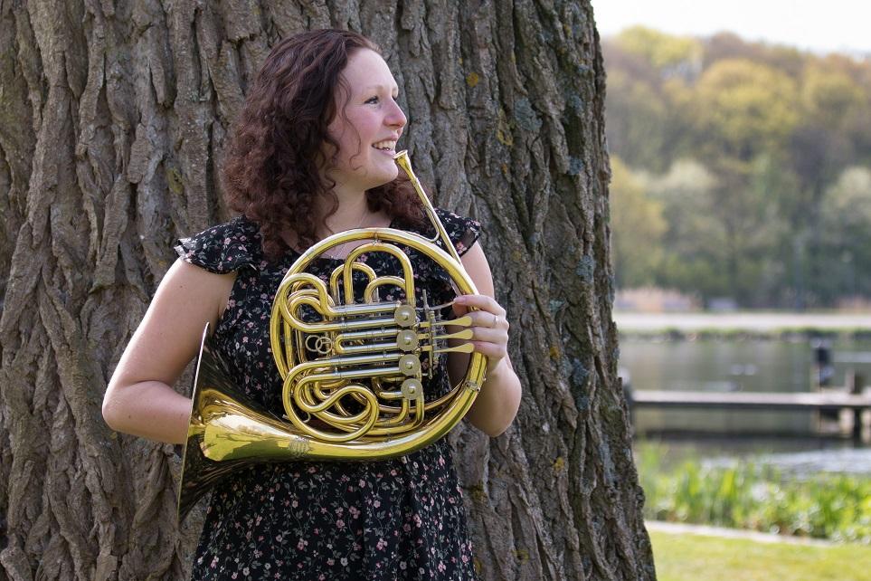 Isabelle Roelofs, boom in kralingse bos